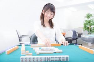 バランス感覚女子